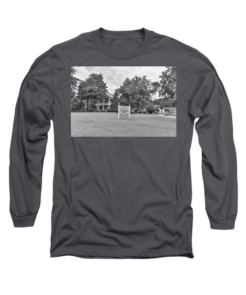 Black And White 58 Long Sleeve T-Shirt