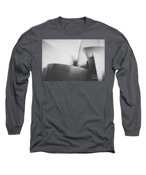 Long Sleeve T-Shirt featuring the photograph Black And White Arcitechture by MGL Meiklejohn Graphics Licensing