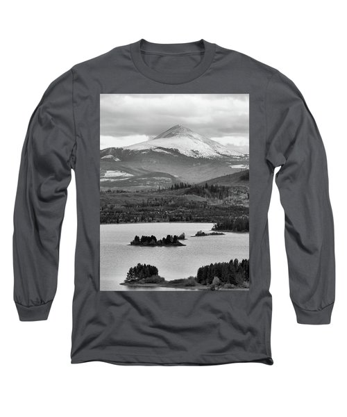 Long Sleeve T-Shirt featuring the photograph Black And White Breckenridge by Dan Sproul