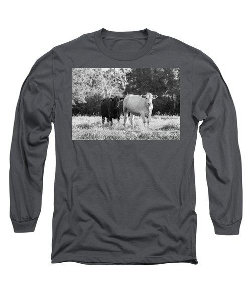 Black And White Cows Long Sleeve T-Shirt