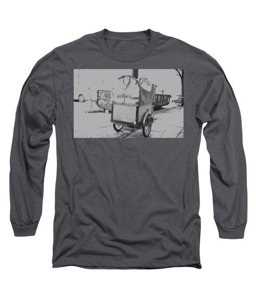 Black And White German Stroller Long Sleeve T-Shirt