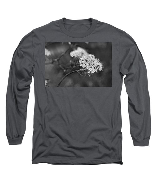 Black And White Long Sleeve T-Shirt