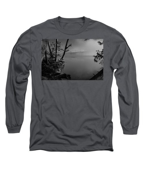 Black And White Morning Long Sleeve T-Shirt