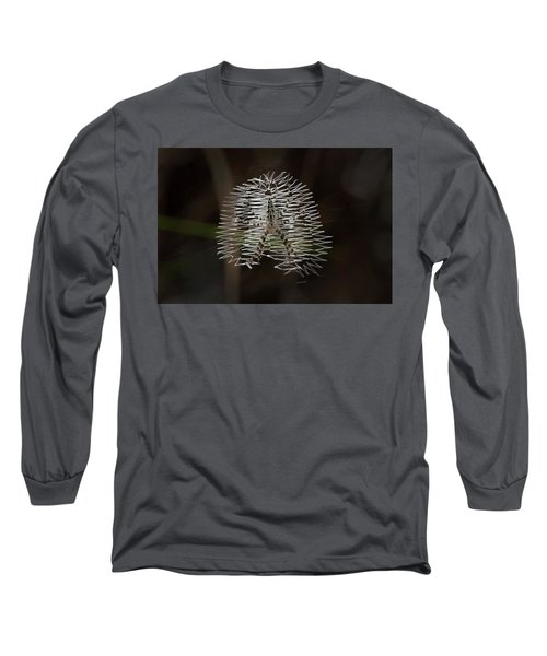 Black And Yellow In White And Black Long Sleeve T-Shirt