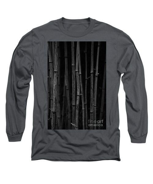Black Bamboo Long Sleeve T-Shirt