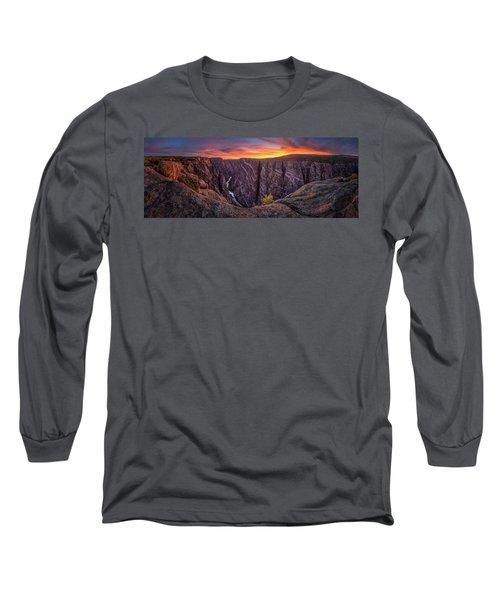 Black Canyon Of The Gunnison Long Sleeve T-Shirt