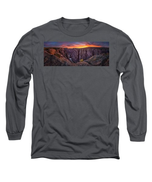 Black Canyon Of The Gunnison Long Sleeve T-Shirt