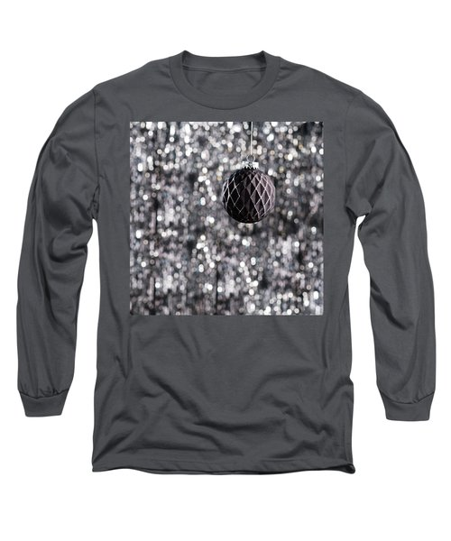 Long Sleeve T-Shirt featuring the photograph Black Christmas by Ulrich Schade