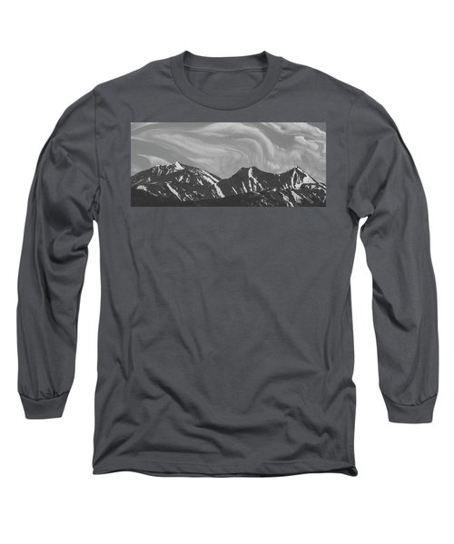 Black Day Mountain Long Sleeve T-Shirt