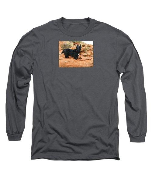Black Dog Red Rock Long Sleeve T-Shirt