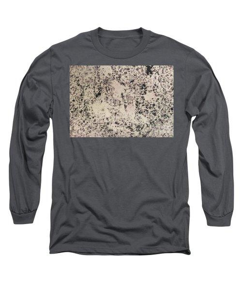 Black Ecru Long Sleeve T-Shirt