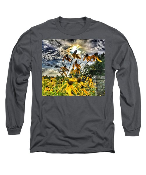 Black Eyed Susan Long Sleeve T-Shirt by Sumoflam Photography