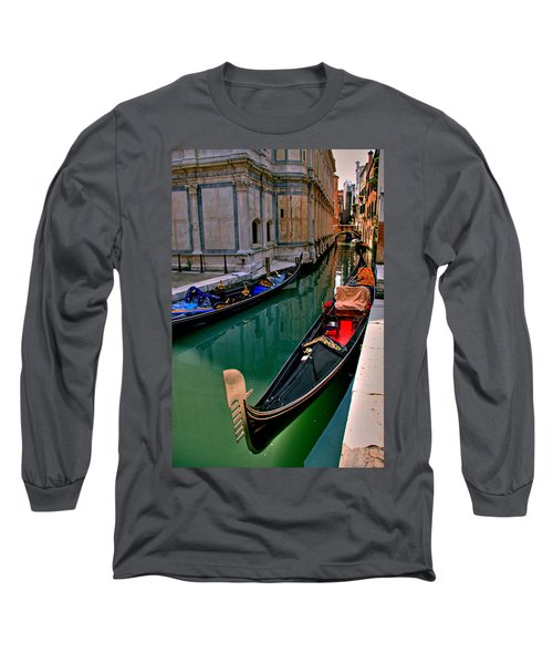 Black Gondola Long Sleeve T-Shirt