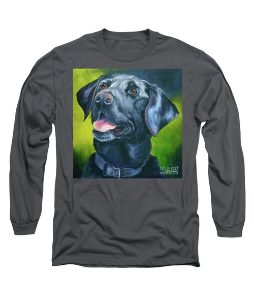 Black Lab Forever Long Sleeve T-Shirt