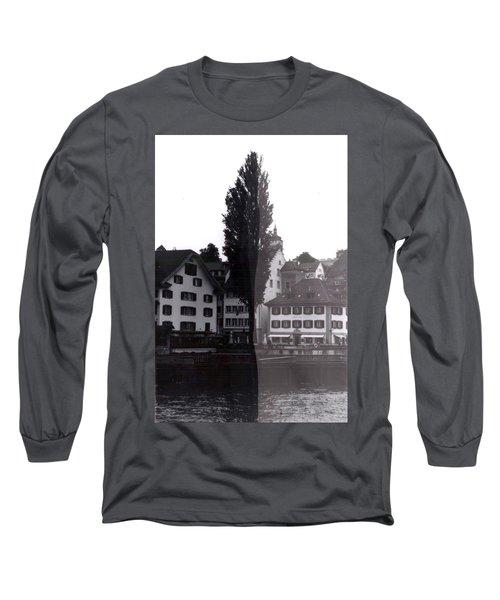 Black Lucerne Long Sleeve T-Shirt