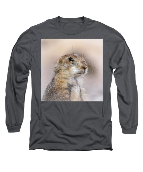 Black Tail Prairie Dog Long Sleeve T-Shirt