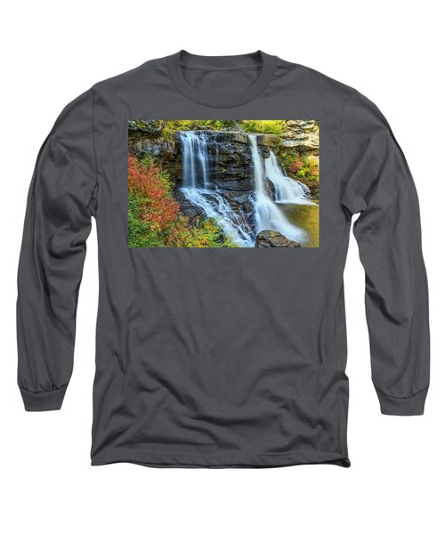 Black Water Falls #3 Long Sleeve T-Shirt