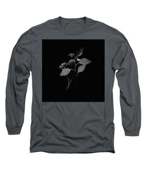 Floating Black And White Long Sleeve T-Shirt