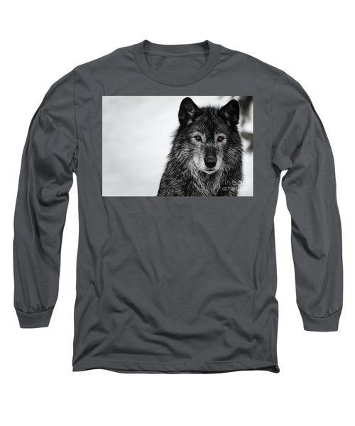 Black Wolf I Long Sleeve T-Shirt