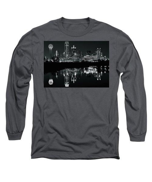 Blackest Night In Big D Long Sleeve T-Shirt