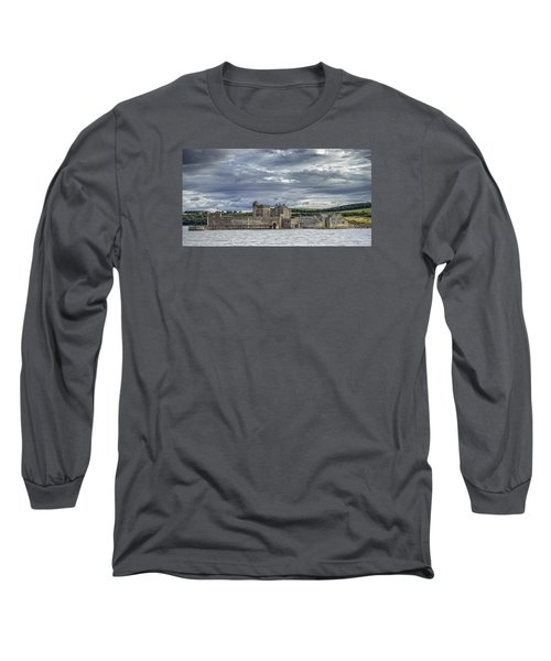 Blackness Castle Long Sleeve T-Shirt by Jeremy Lavender Photography
