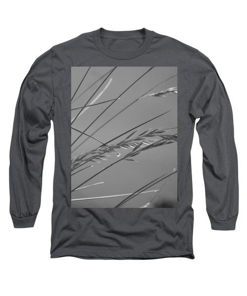 Blades Of Gray Long Sleeve T-Shirt