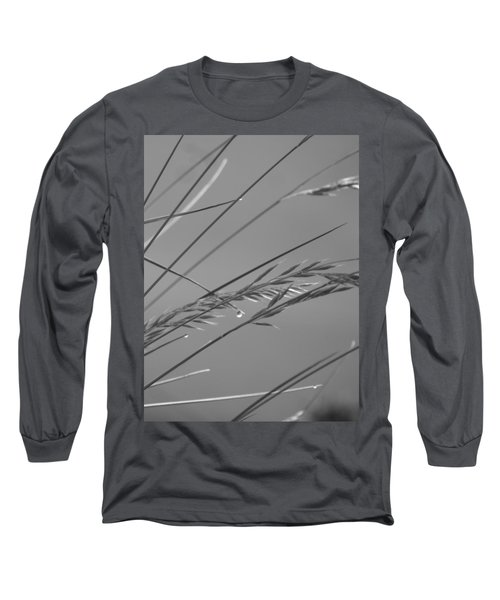 Blades Of Gray Long Sleeve T-Shirt