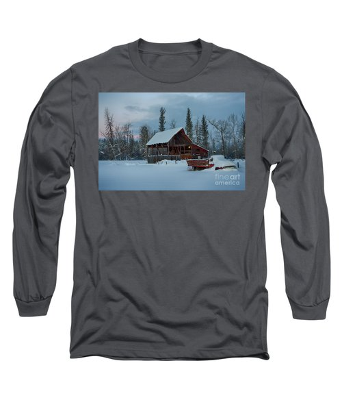 Blanketed Long Sleeve T-Shirt