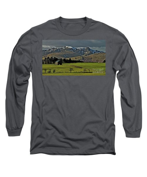 Blencathra Mountain, Lake District Long Sleeve T-Shirt