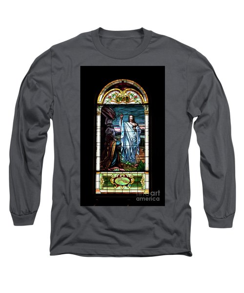 Blessed By Jesus Long Sleeve T-Shirt