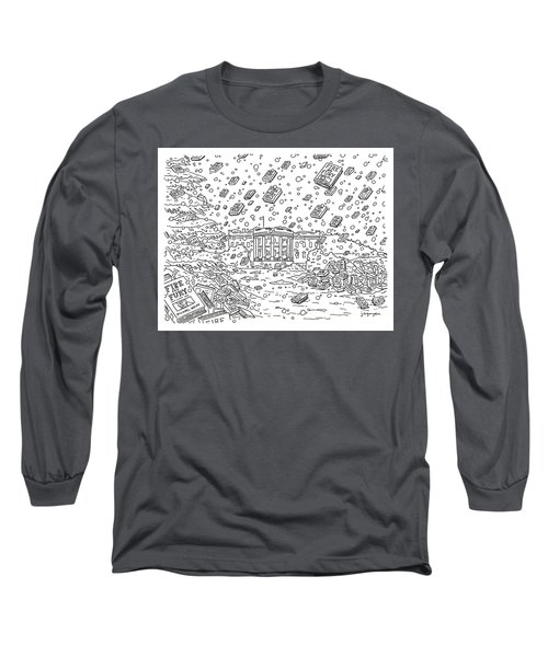 Blizzard Of Fire And Fury Long Sleeve T-Shirt