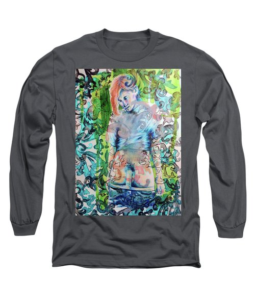 Blond Boy Version 3 Long Sleeve T-Shirt