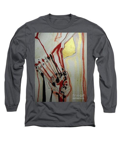 Blood Flowers Long Sleeve T-Shirt