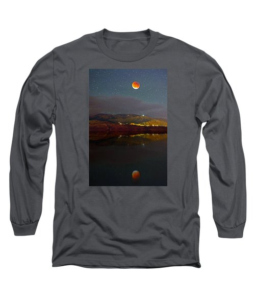 Bloody Reflection Long Sleeve T-Shirt by Matt Helm