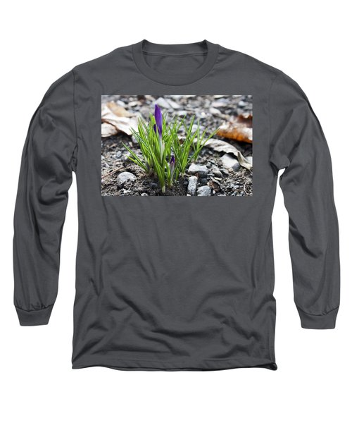 Long Sleeve T-Shirt featuring the photograph Bloom Awaits by Jeff Severson