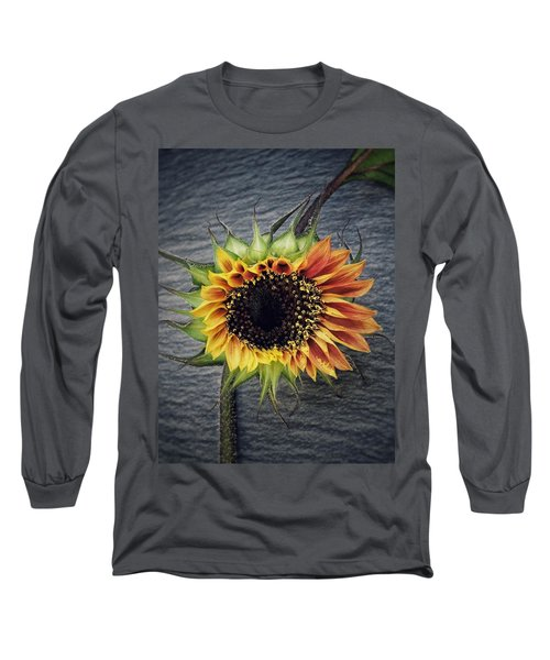 Long Sleeve T-Shirt featuring the photograph Blooming by Karen Stahlros
