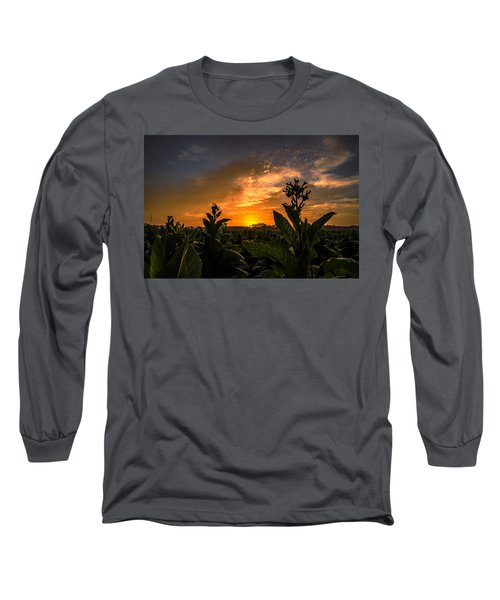 Blooming Tobacco Long Sleeve T-Shirt