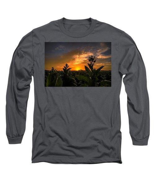 Blooming Tobacco Long Sleeve T-Shirt