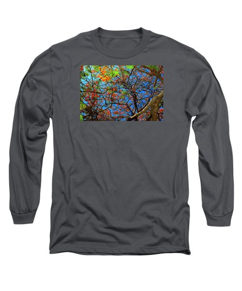 Blooming Tree Long Sleeve T-Shirt
