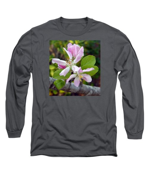 Blossom Duet Long Sleeve T-Shirt by Carla Parris