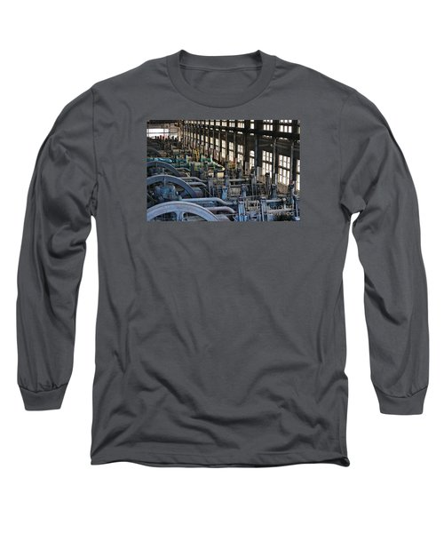Blower Building Long Sleeve T-Shirt
