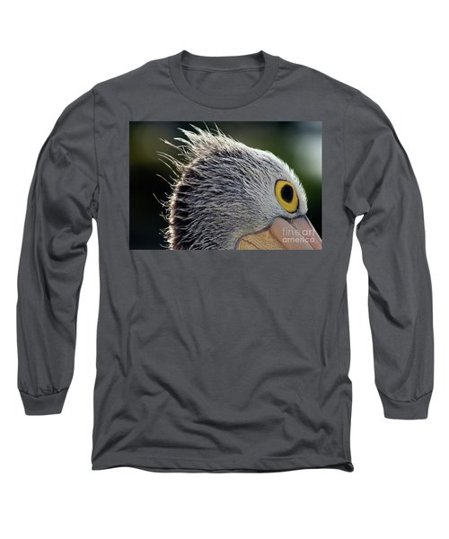 Long Sleeve T-Shirt featuring the photograph Blowin' In The Wind by Stephen Mitchell
