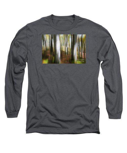 Blowing Up Long Sleeve T-Shirt by Yuri Santin
