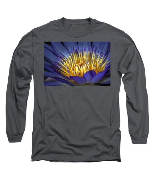 Blue And Yellow Long Sleeve T-Shirt