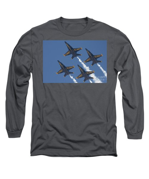 Blue Angels Blue Skies Long Sleeve T-Shirt