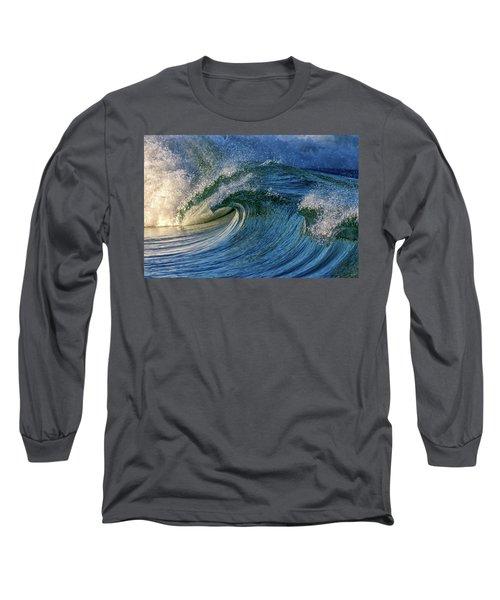 Blue Barrel Long Sleeve T-Shirt