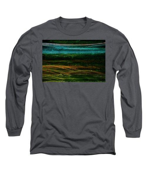 Blue Canoe Long Sleeve T-Shirt