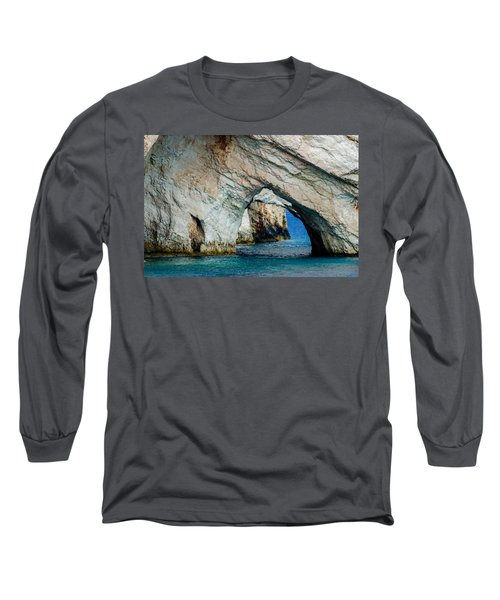 Blue Caves 1 Long Sleeve T-Shirt