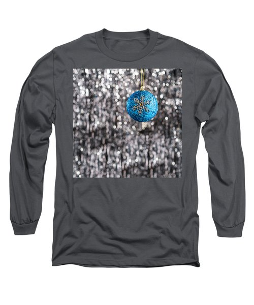 Long Sleeve T-Shirt featuring the photograph Blue Christmas by Ulrich Schade