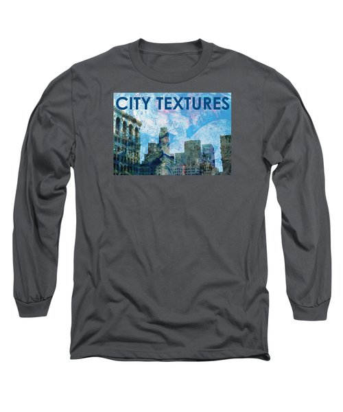 Blue City Textures Long Sleeve T-Shirt